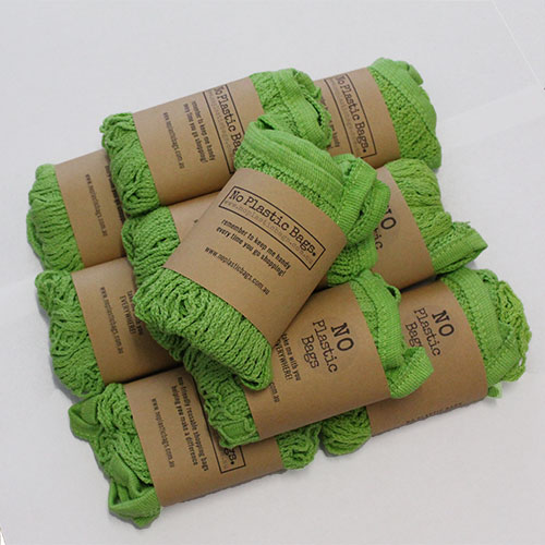 cotton mesh string bags