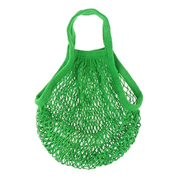 cotton mesh reusable shopping bag